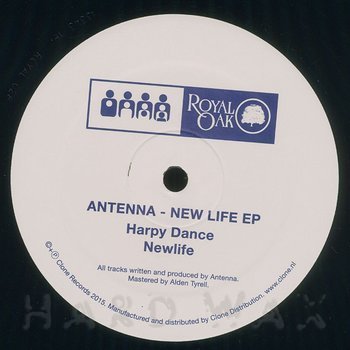 Cover art - Antenna: New Life EP