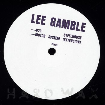 Cover art - Lee Gamble: B23 Steelhouse