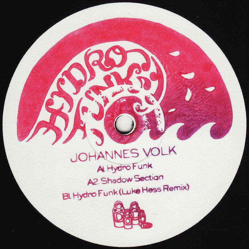 Cover art - Johannes Volk: Hydrofunk EP