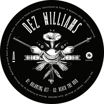 Cover art - Dez Williams: Sleight Of Hand EP