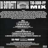 Cover art - DJ Sotofett: TDD-DDRR-IPP MIX