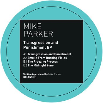 Cover art - Mike Parker: Transgression