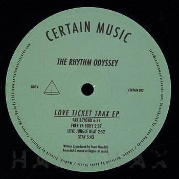 Cover art - The Rhythm Odyssey: Love Ticket Trax EP