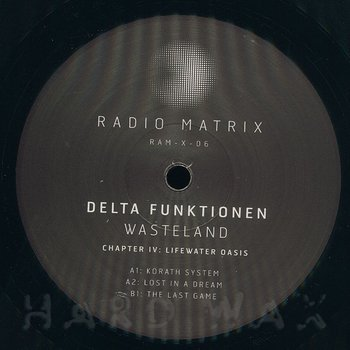 Cover art - Delta Funktionen: Wasteland - Chapter IV