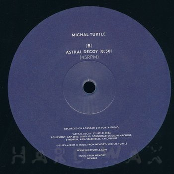 Cover art - Michal Turtle: Are You Psychic?