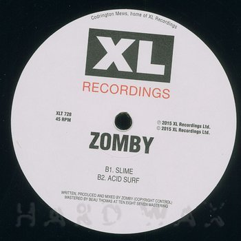 Cover art - Zomby: Let's Jam 1 EP