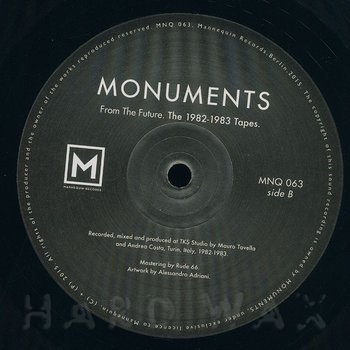 Cover art - Monuments: From The Future