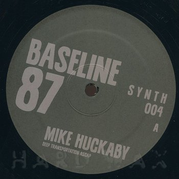 Cover art - Mike Huckaby: Baseline 87