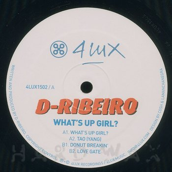 Cover art - D-Ribeiro: What's Up Girl?