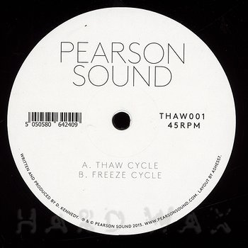 Cover art - Pearson Sound: Thaw Cycle