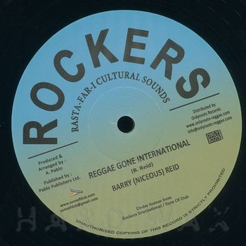 Cover art - Barry Reid: Reggae Gone International