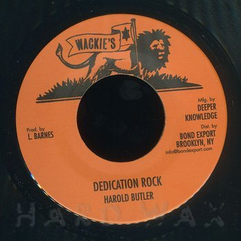 Cover art - Harold Butler: Dedication Rock