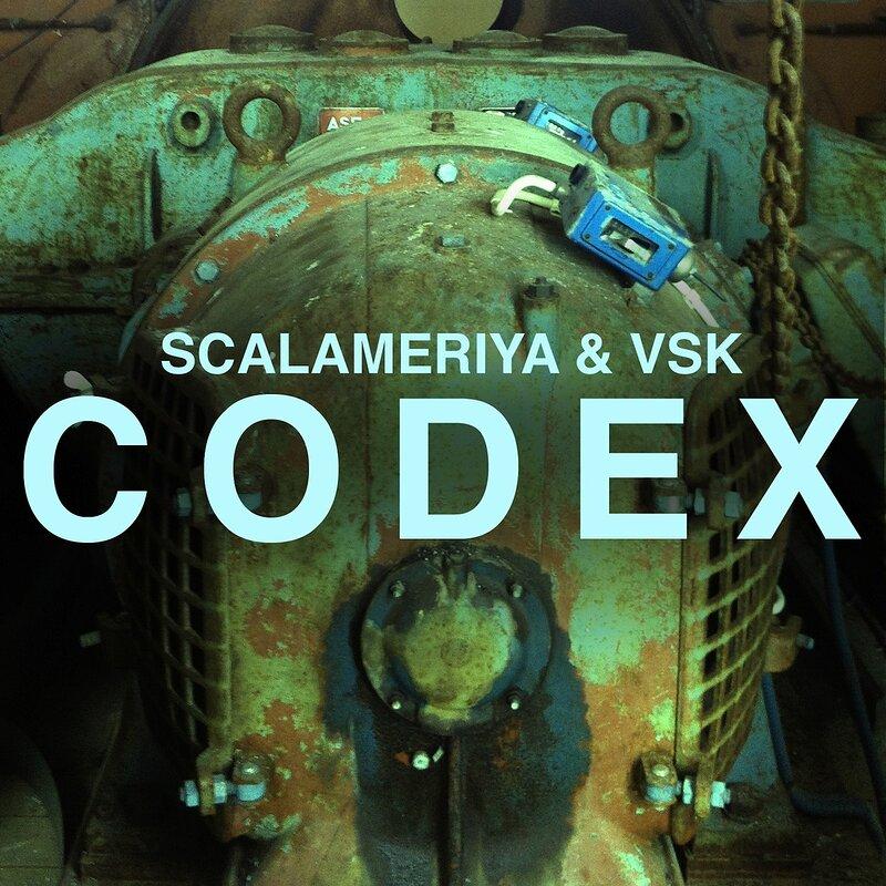 Cover art - Scalameriya & VSK: Codex