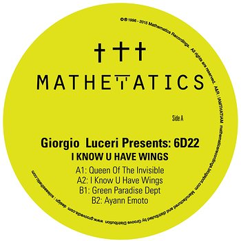 Cover art - Giorgio Luceri pres. 6D22: I Know U Have Wings