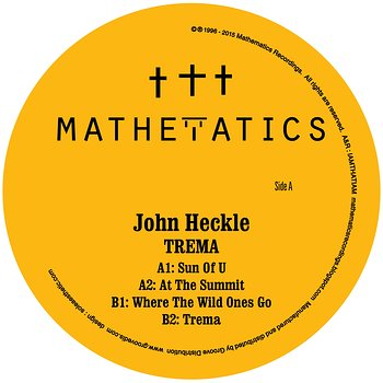 Cover art - John Heckle: Trema