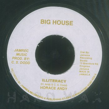 Cover art - Horace Andy: Illiteracy