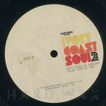 Cover art - Various Artists: Ivory Coast Soul 2