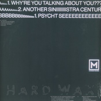 Cover art - Maoupa Mazzocchetti: Why're You Talking About You???