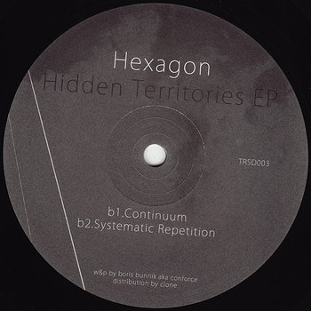 Cover art - Hexagon: Hidden Territories EP