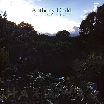 Cover art - Anthony Child: Electronic Recordings from Maui Jungle Vol. 1