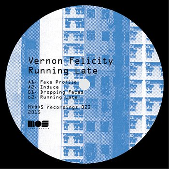 Cover art - Vernon Felicity: Running Late