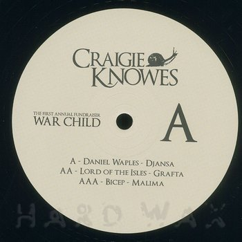 Cover art - Various Artists: The First Annual Fundraiser - War Child