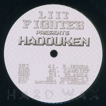 Cover art - Liit: Liit Fighter Presents Hadouken