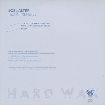 Cover art - Joel Alter: Heart (Remixes)