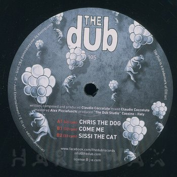 Cover art - Claudio Coccoluto: Chris The Dog