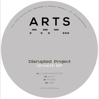 Cover art - Disrupted Project: Growth EP