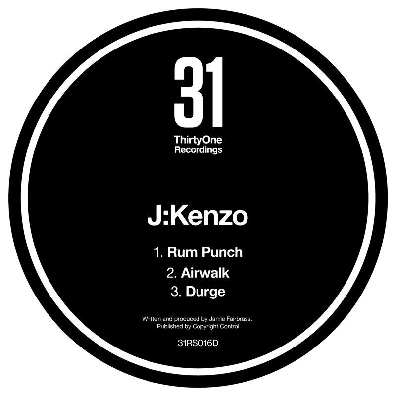 Cover art - J:Kenzo: Rum Punch