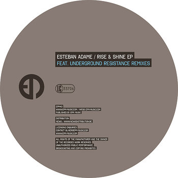 Cover art - Esteban Adame: Rise & Shine EP