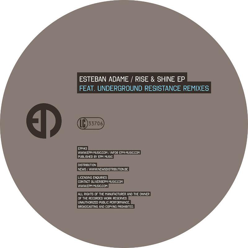 Cover art - Esteban Adame: Rise & Shine EP