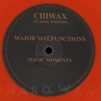 Cover art - Major Malfunctions: Magic Moments