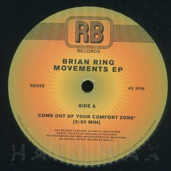 Cover art - Brian Ring: Movements EP