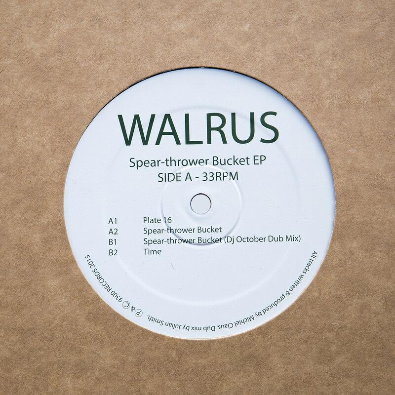 Cover art - Walrus: Spear-Thrower Bucket EP