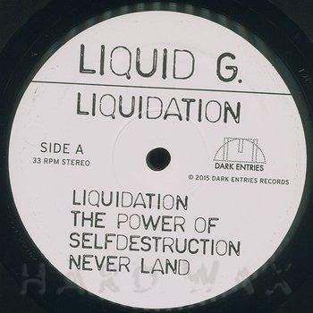 Cover art - Liquid G: Liquidation