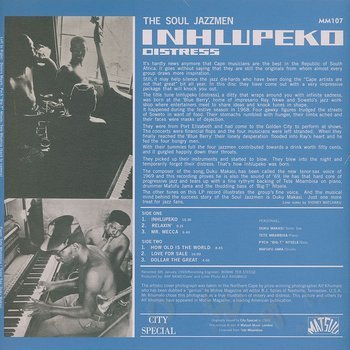 Cover art - The Soul Jazz Men: Inhlupeko