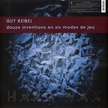 Cover art - Guy Reibel: Douze Inventions En Six Modes De Jeu