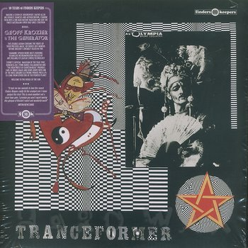 Cover art - Geoff Krozier & The Generator: Tranceformer