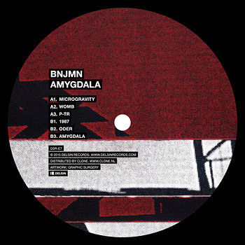 Cover art - Bnjmn: Amygdala
