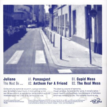 Cover art - Juliano: This Must Be...