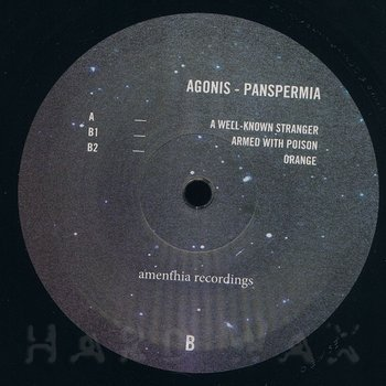 Cover art - Agonis: Panspermia