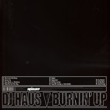 Cover art - DJ Haus: Burnin' Up