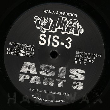 Cover art - Asis: Part 3