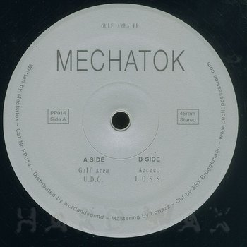 Cover art - Mechatok: Gulf Area EP