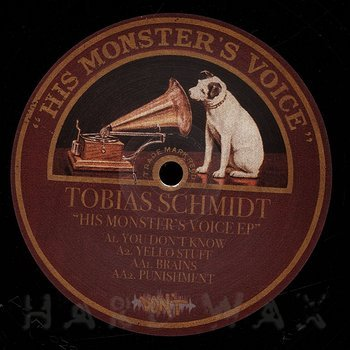 Cover art - Tobias Schmidt: His Monster's Voice