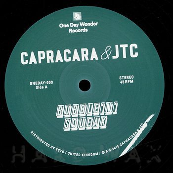 Cover art - Capracara & JTC: Bubble 'N' Squeak