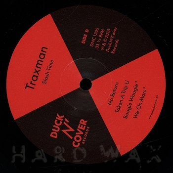 Cover art - Traxman: Slash Time