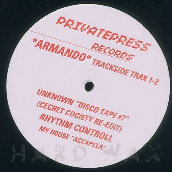 Cover art - Armando: Trackside Trax 1-2